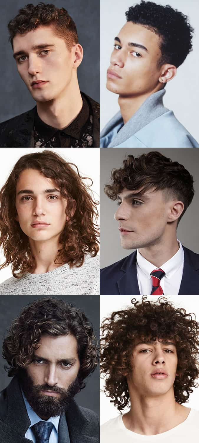 the best curly hair styles for men