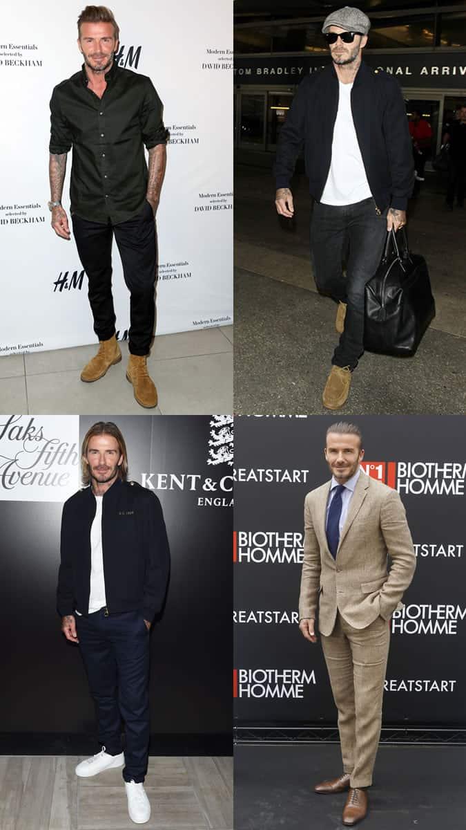 David Beckham comme icône de style dans la quarantaine