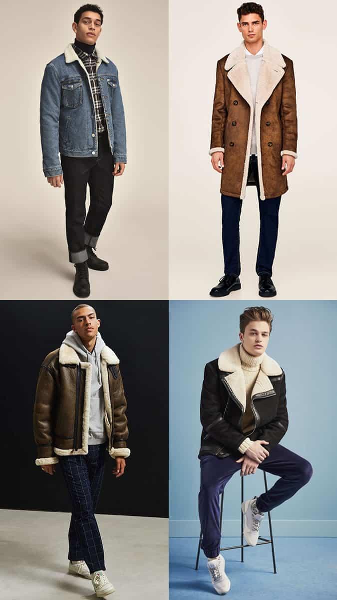 comment porter un manteau en peau de mouton