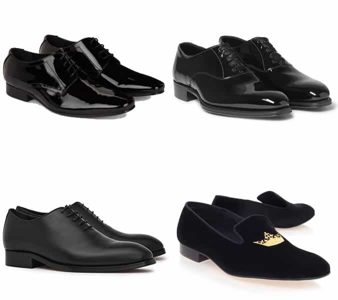 The best men's black tie dress shoes and slippers