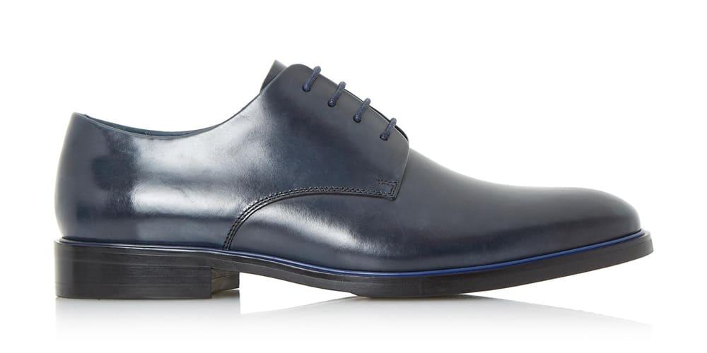 Dune London PLANET - NAVY Chaussures à lacets élégantes