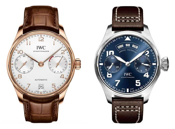 the best IWC watches for men