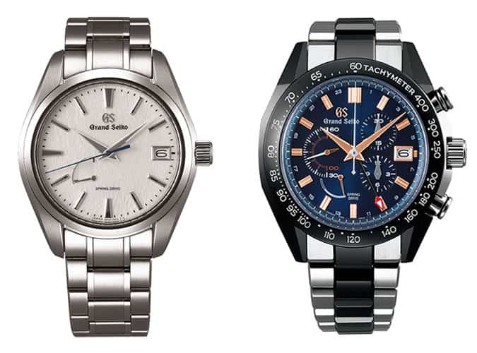 the best Grand Seiko watches for men