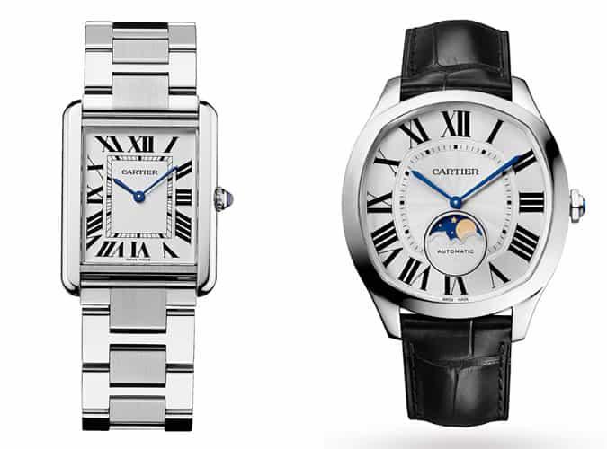 the best men's Cartier watches