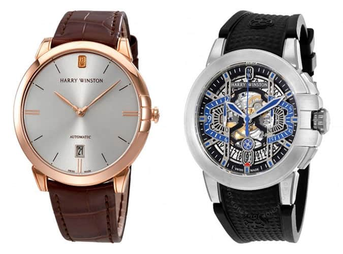 the best Harry Winston watches for men