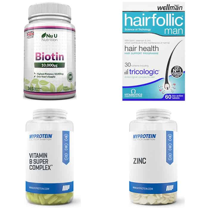the best hair loss supplements for men