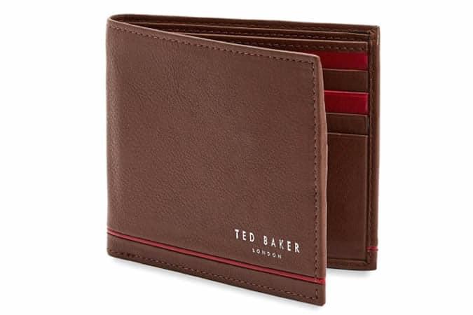 Ted Baker JEEZE Portefeuille en cuir à deux volets