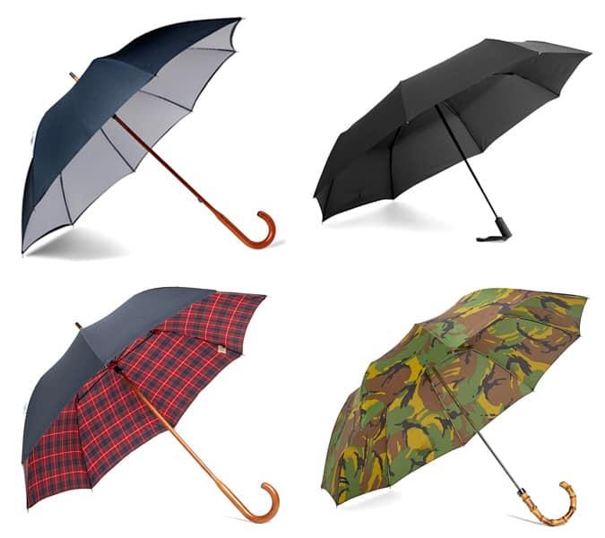 les parapluies les plus stylés pour hommes