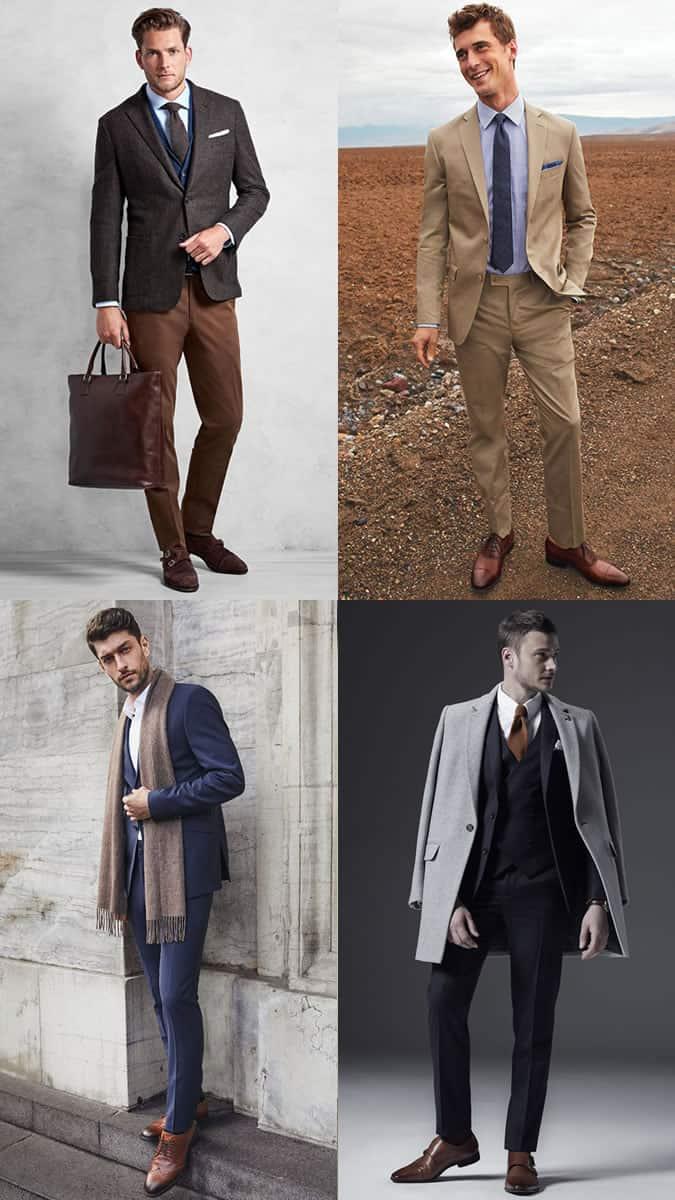 quoi porter avec des chaussures marron