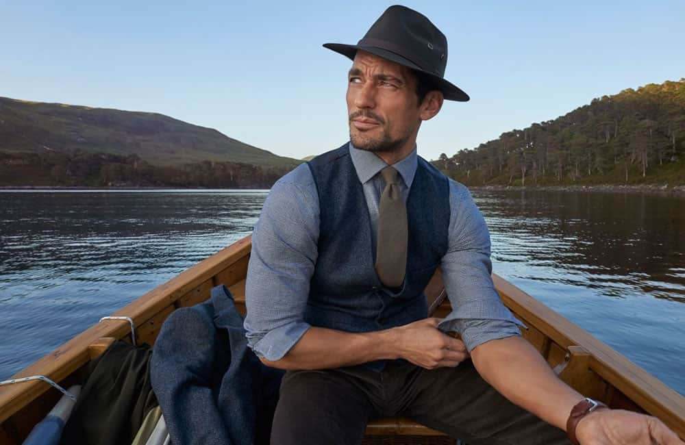 David Gandy Campaign For Marks And Spencer