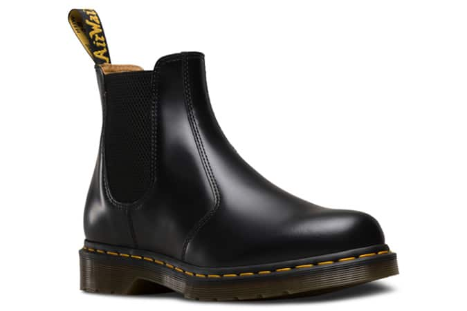 DR MARTENS 2976 SMOOTH CHELSEA BOOTS
