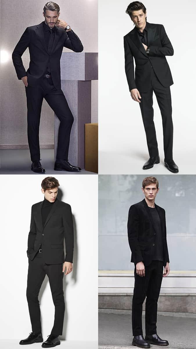 Comment porter une couture entièrement noire