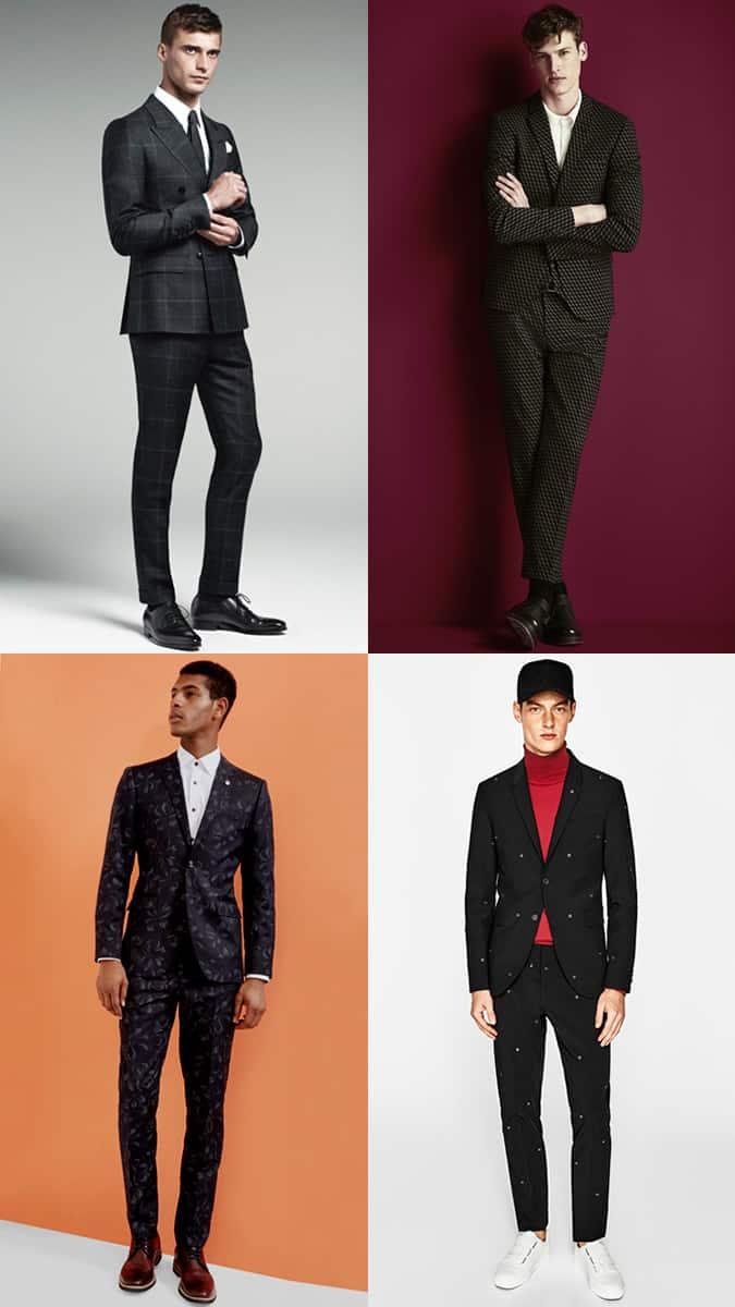 Comment porter un costume à motifs noir