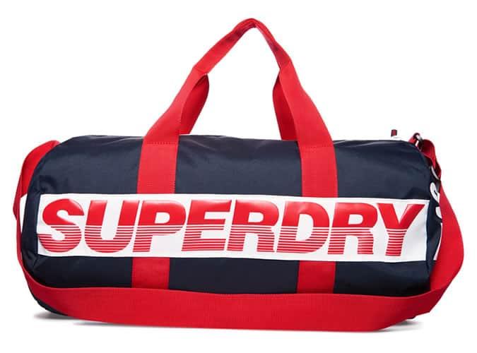 Superdry International Barrel Bag