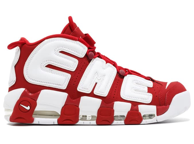 Nike X Supreme Air More Uptempo