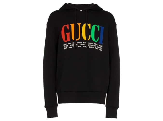 Sweat à capuche Gucci Cities