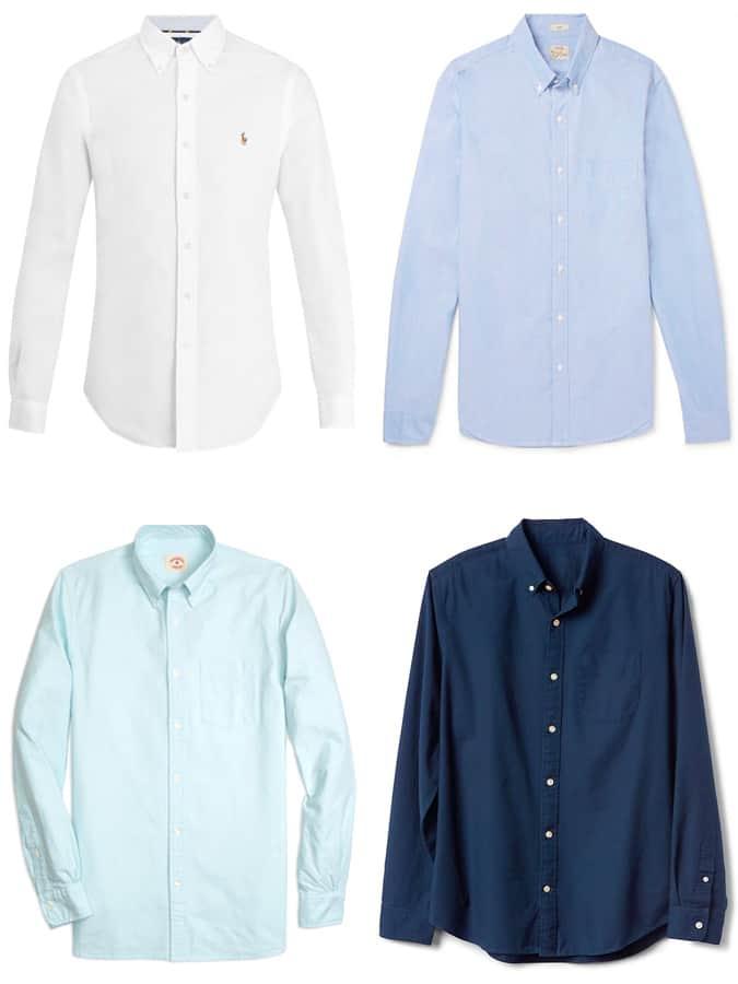 Les meilleures chemises Oxford Preppy pour hommes