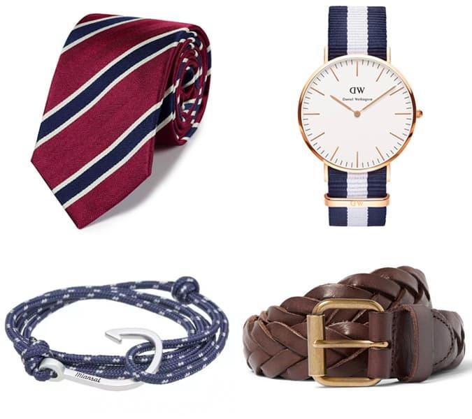 Les meilleurs accessoires preppy pour hommes
