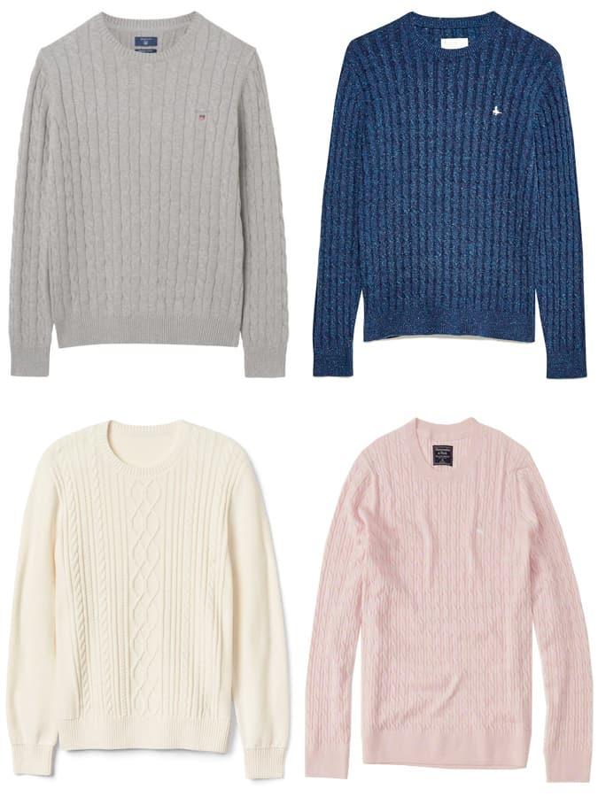 Les meilleurs pulls en tricot de coton pour hommes