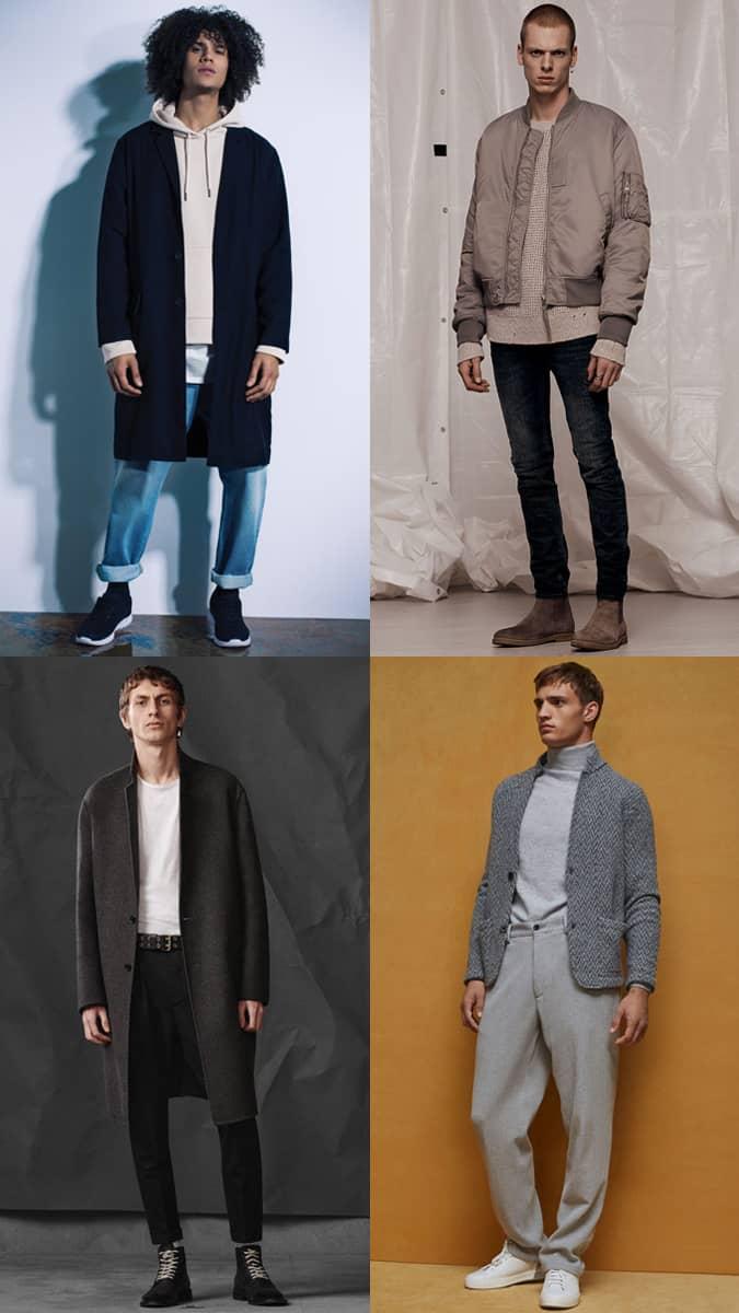 Tendance des vêtements surdimensionnés pour hommes