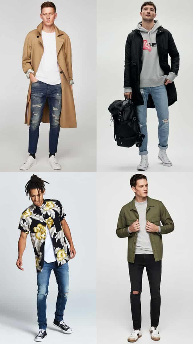 Comment porter un jean en détresse
