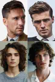 types of haircuts men
