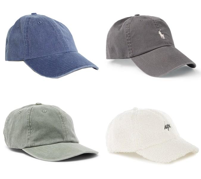 Les meilleurs casquettes de papa