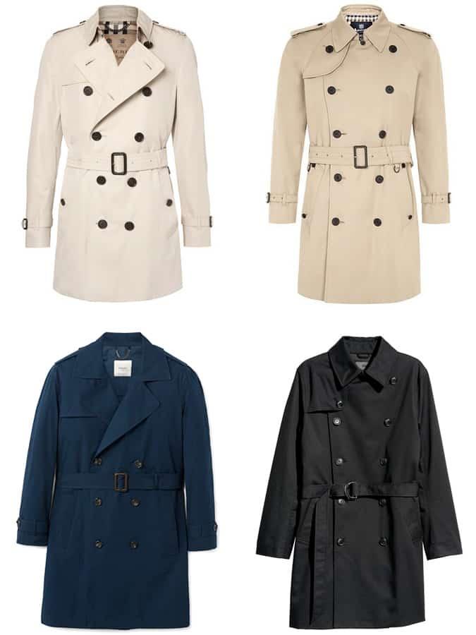 The Best Men's Trench Coats