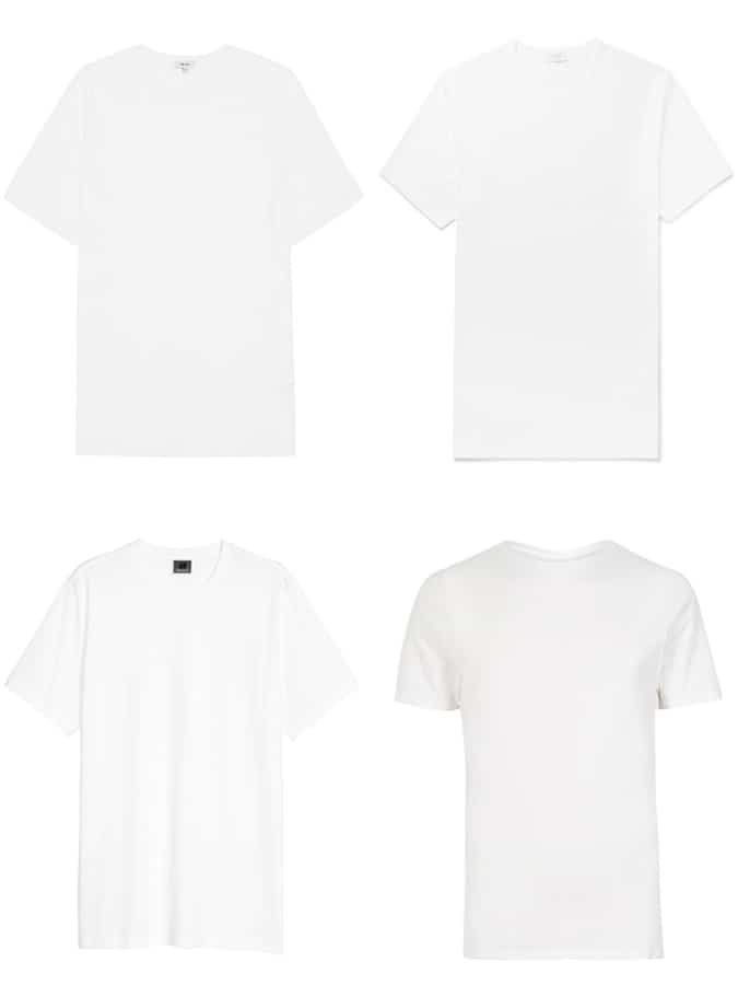 The Best Men's White T-Shirts