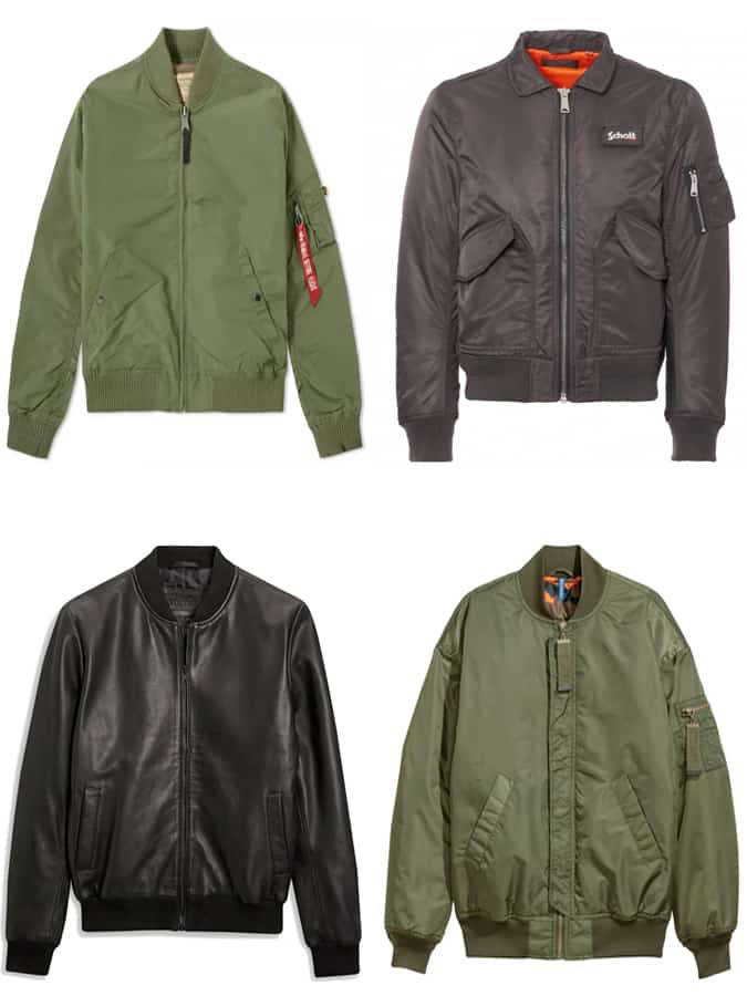 The Best Men's Bomber Jackets