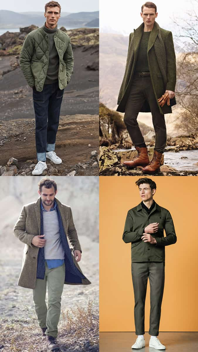 Military Green Menswear