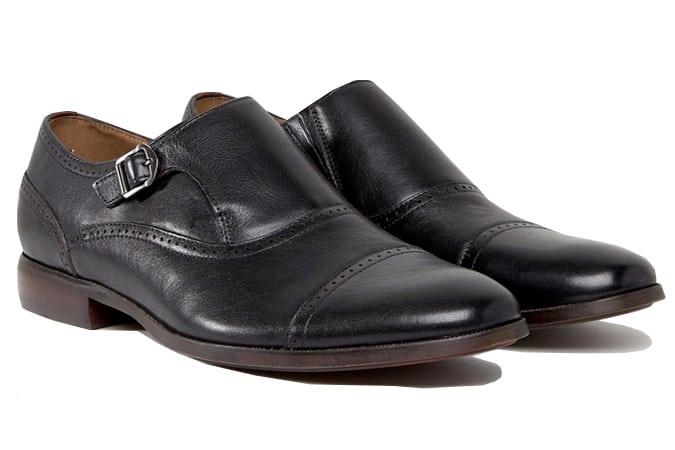 ALDO - Ales Brogue Monk - Chaussures - Noir