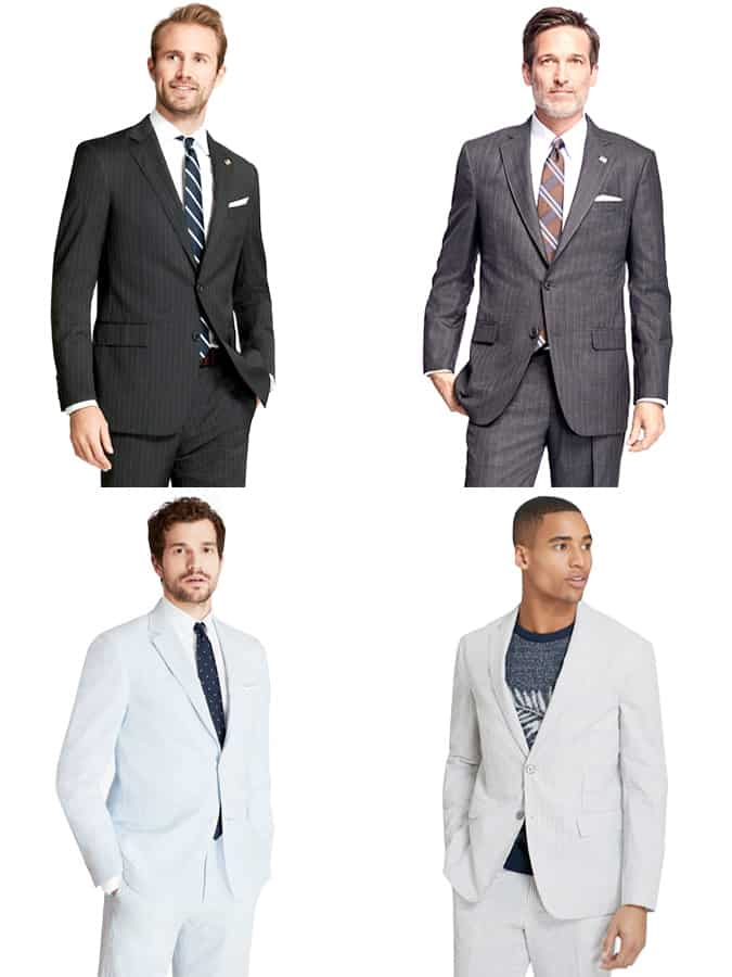 Brooks Brothers Pinstripe Suits pour homme