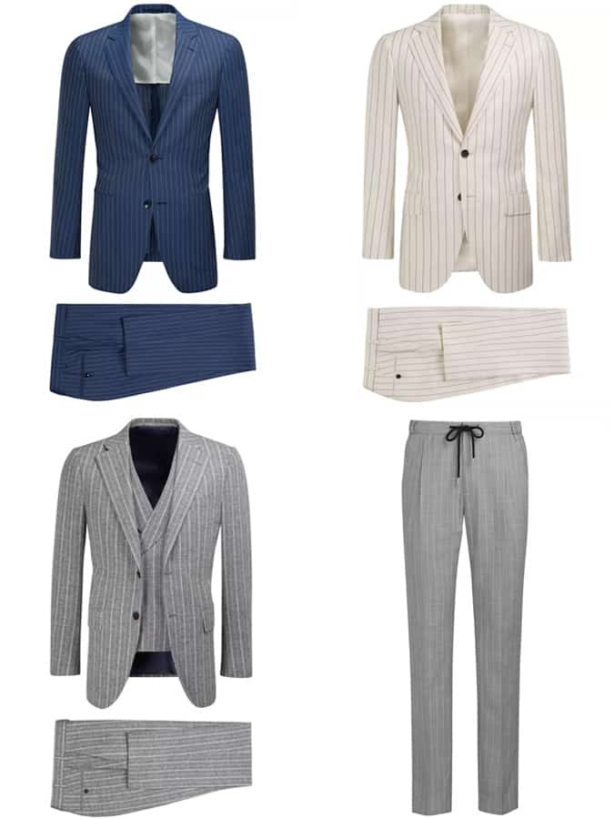 Suitsupply Pinstriped couture et costumes pour hommes