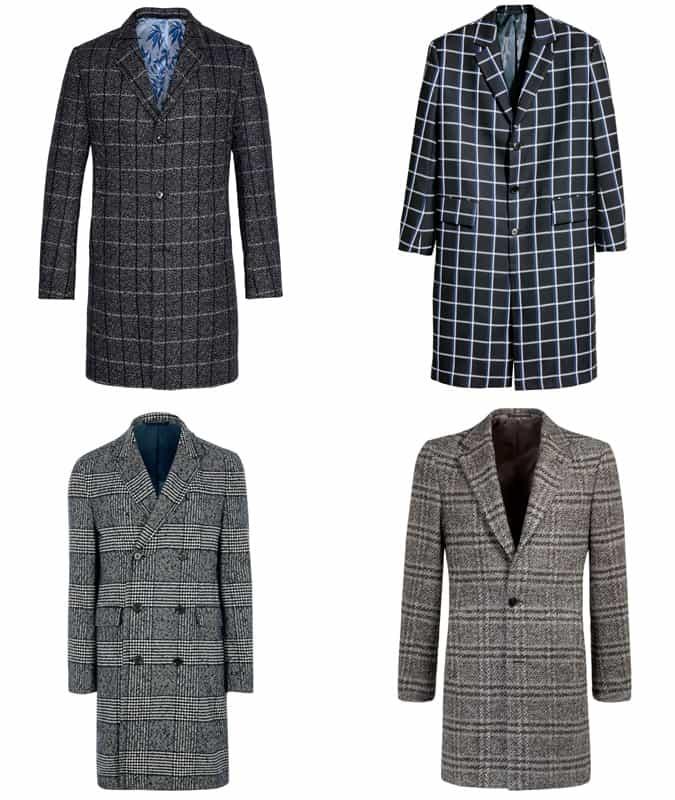 Les meilleurs manteaux à carreaux pour hommes