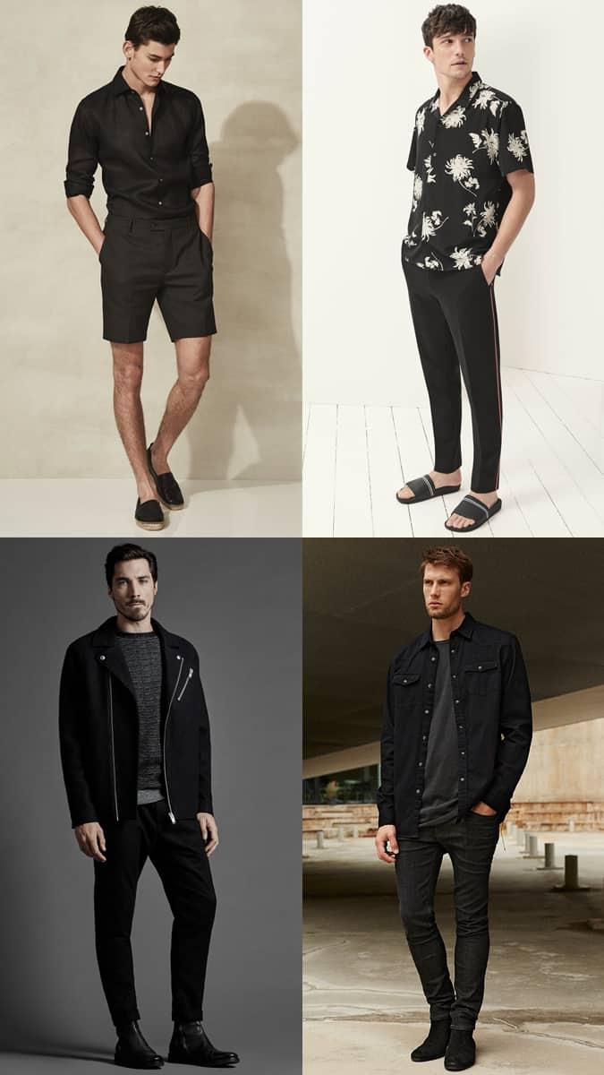 Comment porter des tenues entièrement noires