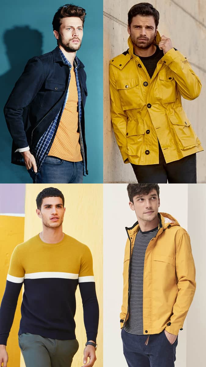 Comment porter du jaune en été pour les hommes