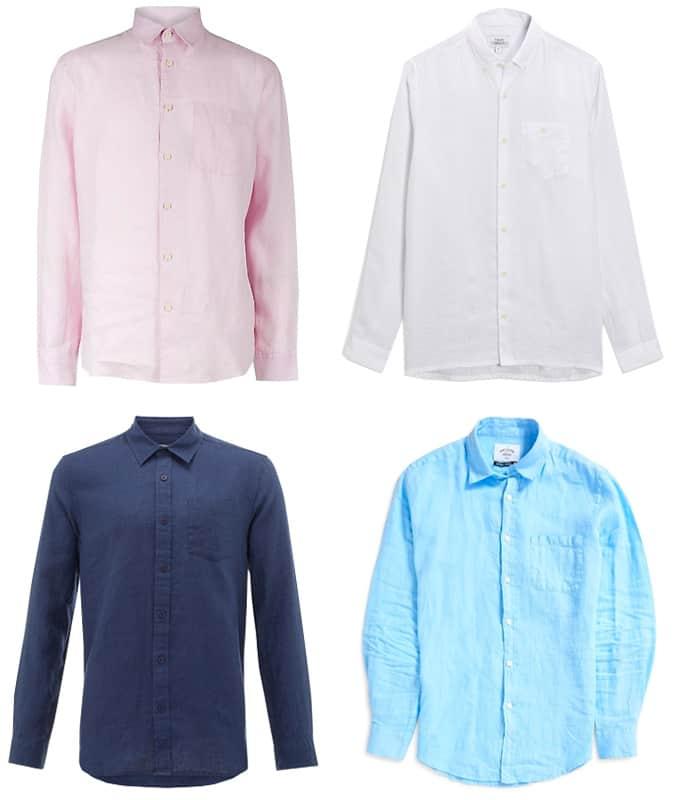 Les meilleures chemises en lin pour hommes