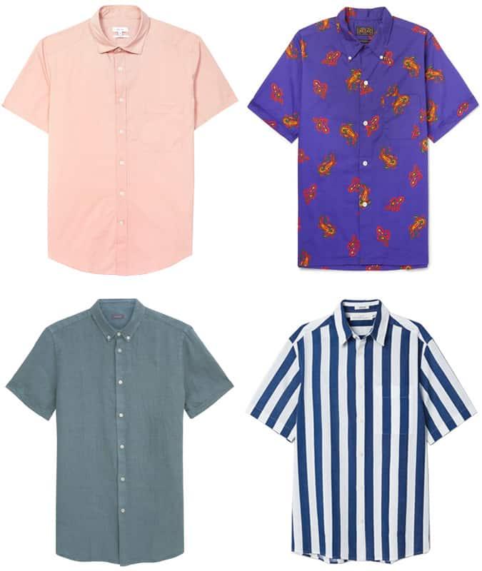 Les meilleures chemises à manches courtes pour hommes