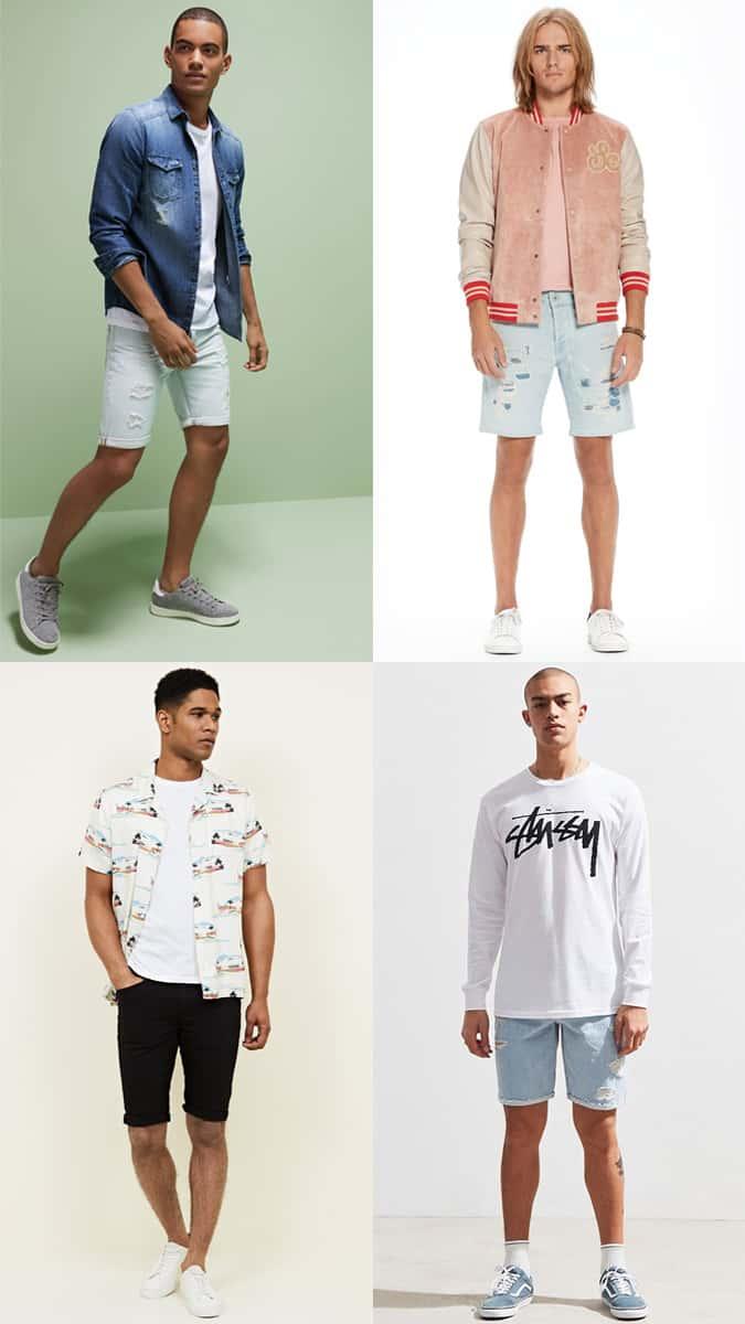 Les meilleures façons de porter un short en jean pour homme