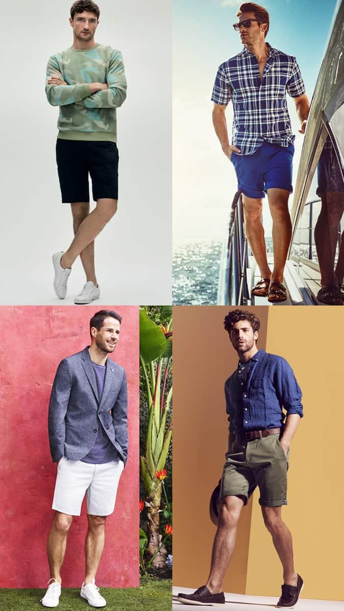 Comment porter un short chino pour homme