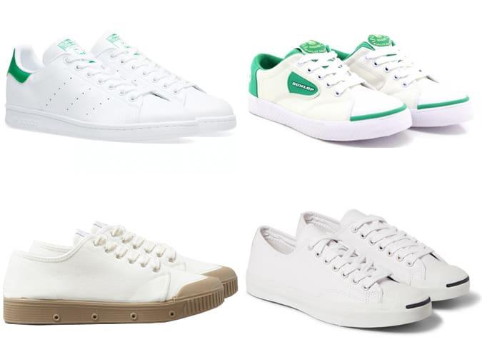Les meilleures chaussures de tennis rétro