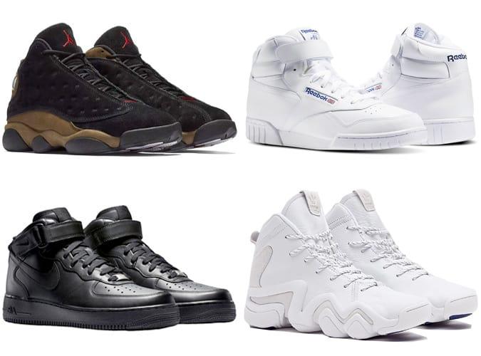 Les meilleures chaussures de basket rétro