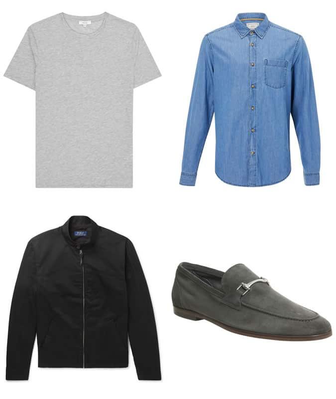 Comment porter un jean noir avec un look superposé