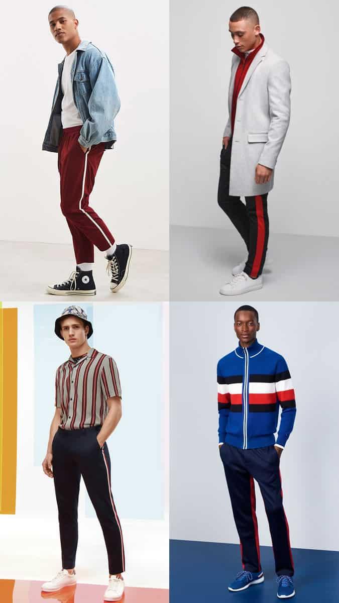 Tendance sportswear des années 80 pour hommes