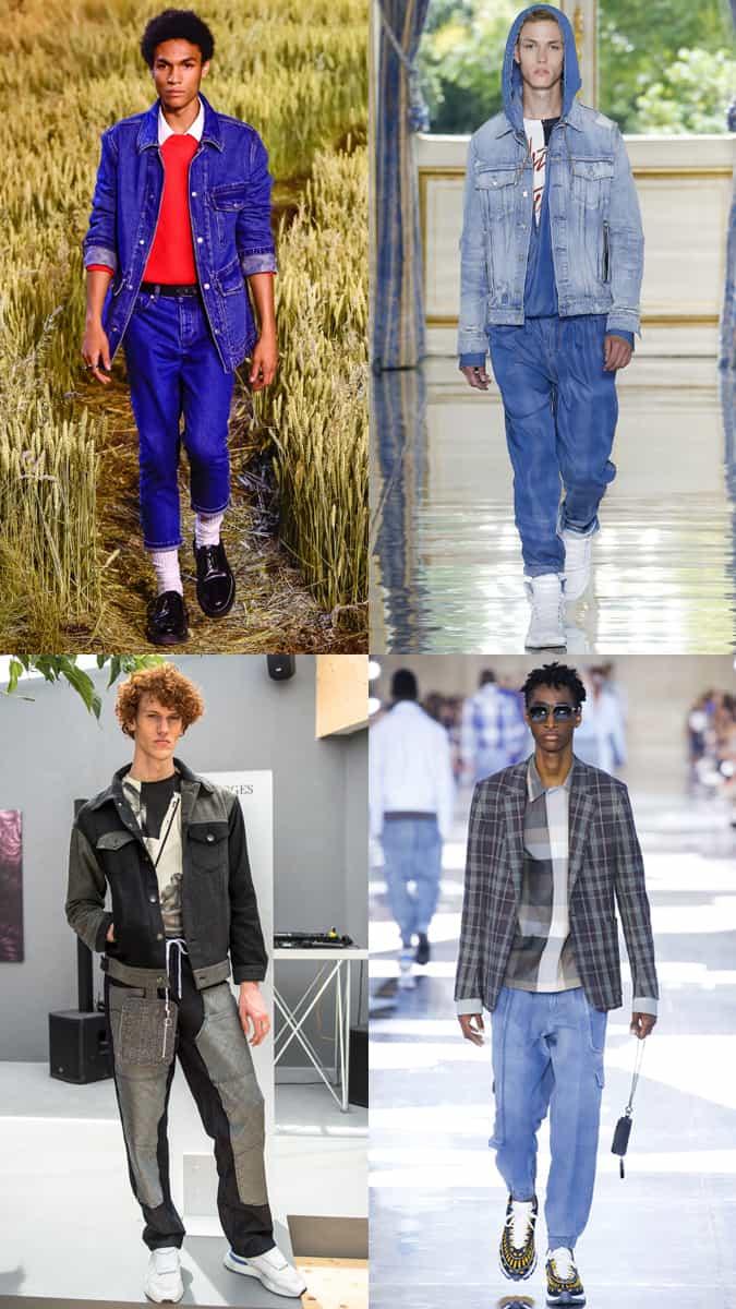 Les tendances du denim à la Fashion Week masculine