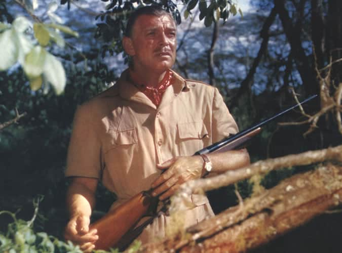 Clark Gable portant une veste de safari