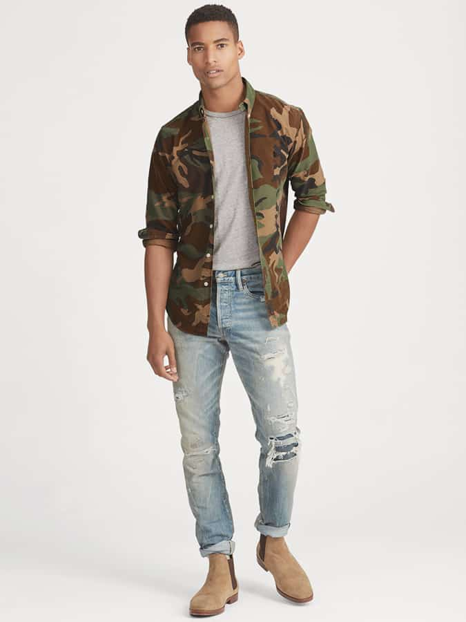 Ralph Lauren Camouflage Shirt