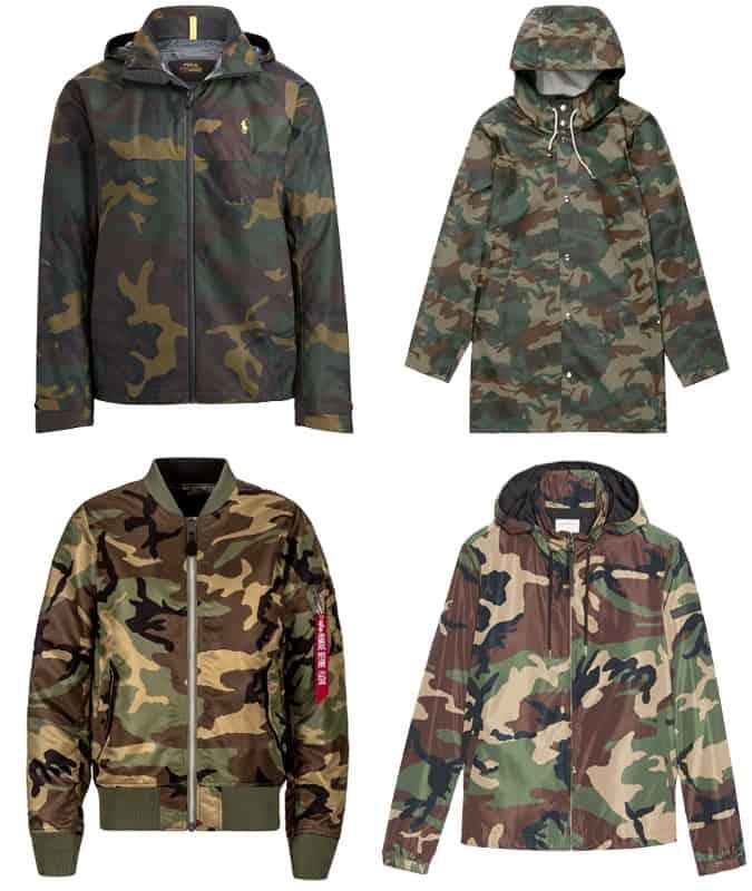 Les meilleures vestes de camouflage pour hommes