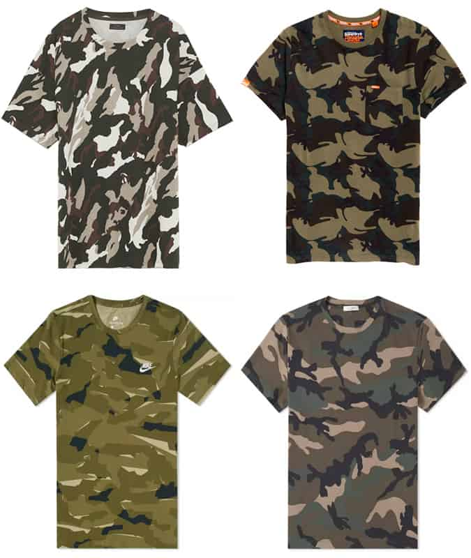 The Best Camo T-Shirts For Men
